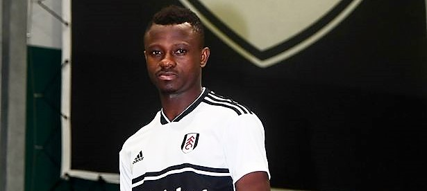 Fulham FC announce the signing of Jean Michael Seri Fulham FC Training Ground Motspur Park Surrey 1