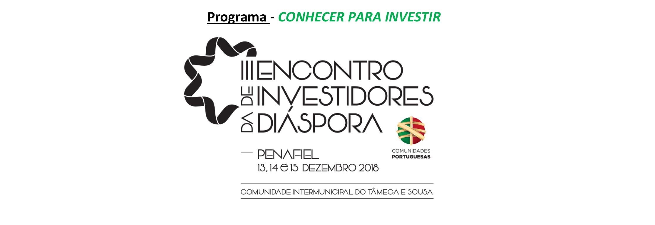 Programa III Encontro de Investidores da Diáspora 1 1
