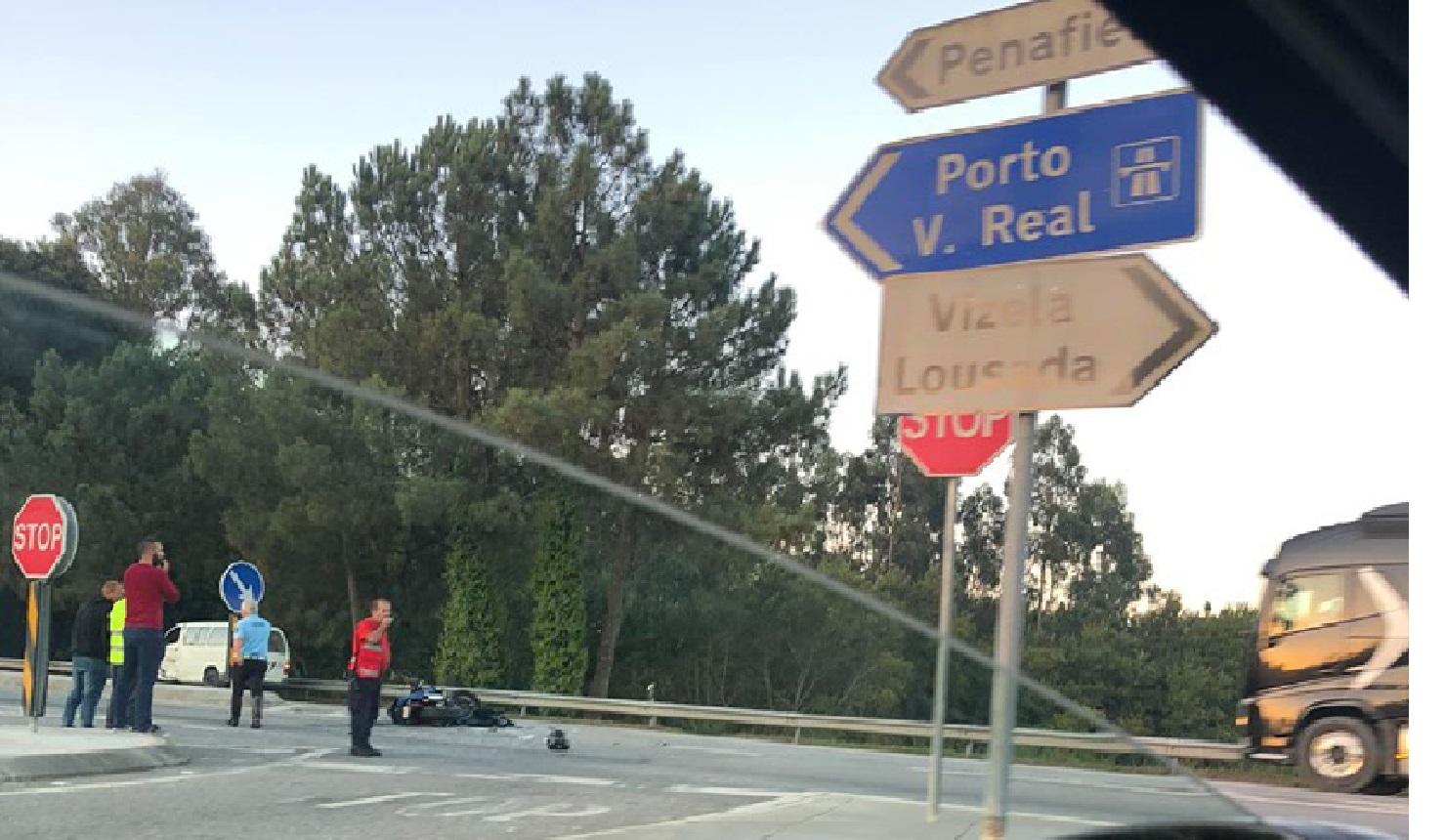 Motocilista ferido com gravidade em Penafiel 1 1