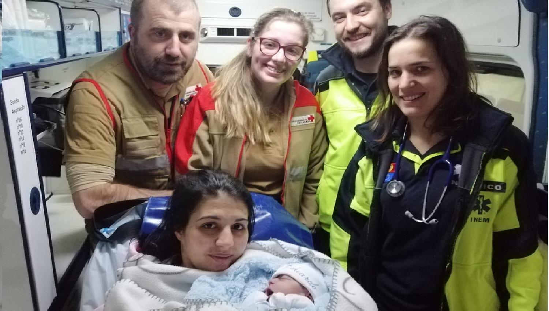 Socorristas da Cruz Vermelha de Vilela ajudam menino a nascer2 1
