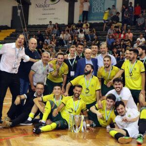Futsal pacense venceu a Taça da AF Porto em 2019