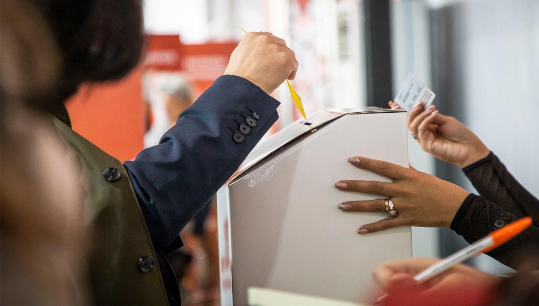 eleições votar eleição 1