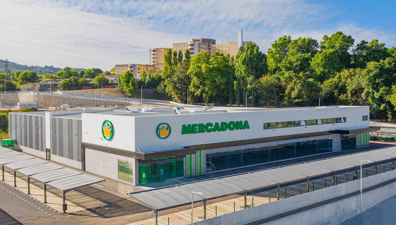 Supermercado Mercadona em Penafiel