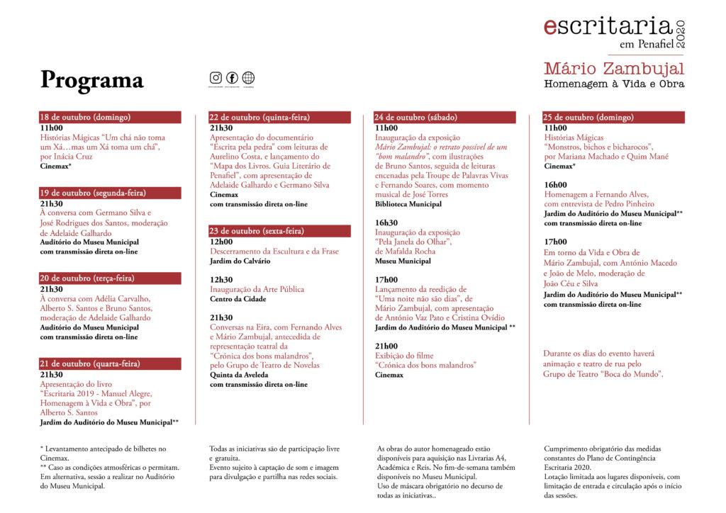 Escritaria 2020 Programa 1