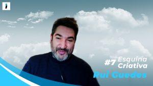 "Rui Guedes, autor de ""Traço Contínuo"""