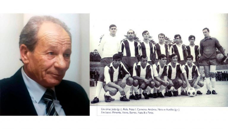 Joaquim Carneiro, histórico atleta do FC Paços de Ferreira