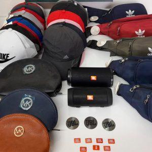 GNR apreendeu artigos contrafeitos em Paços de Ferreira