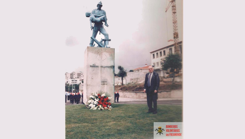 António Rogério Gomes Pereira, antigo Presidente da Associação Humanitária dos Bombeiros Voluntários de Freamunde