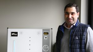 Empresa pacense dá mobilidade a máquina desinfetante e cria produto inovador