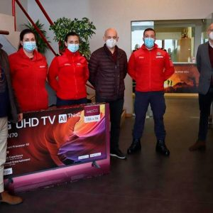 Euronics doa TV aos BVF