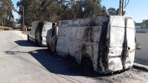 Em poucas horas, três veículos arderam no concelho de Paços de Ferreira