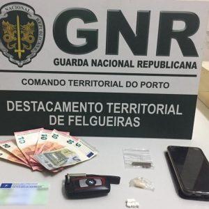 Homem de 29 anos detido por tráfico de droga