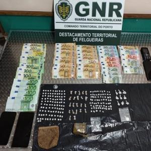 Investigação leva à captura de três traficantes de droga no Vale do Sousa