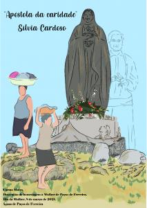Ilustração oferecida pela Águas de Paços de Ferreira às colaboradoras