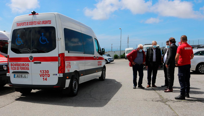 Bombeiros Voluntários de Paços de Ferreira têm nova viatura