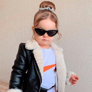 Mini influenciadora reúne mais de 20 mil seguidores no Instagram