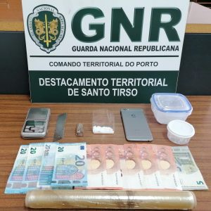 Detido mais um jovem ligado a rede de tráfico de droga em Paços de Ferreira