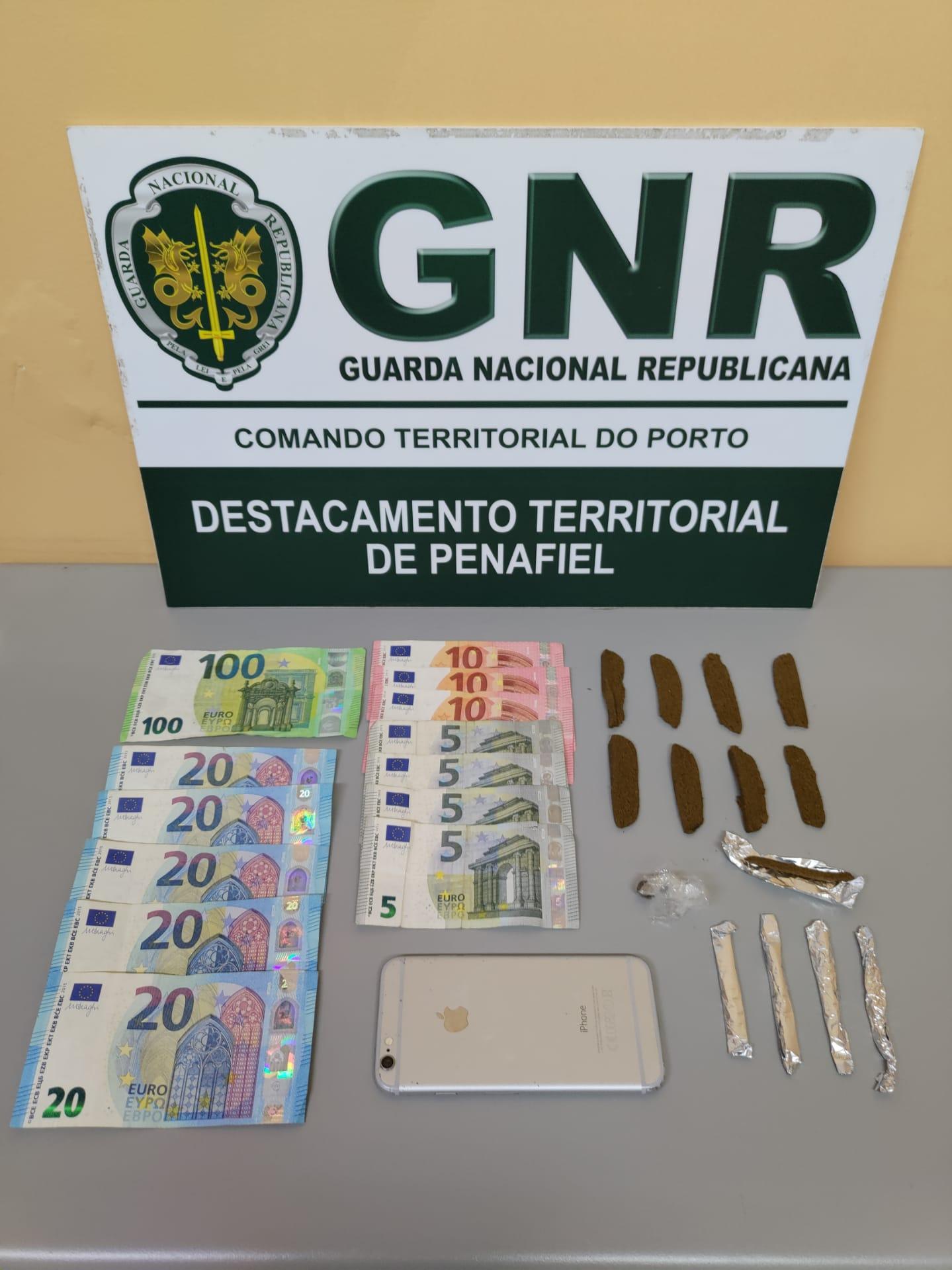 GNR apanha dois traficantes de droga em ações de fiscalização
