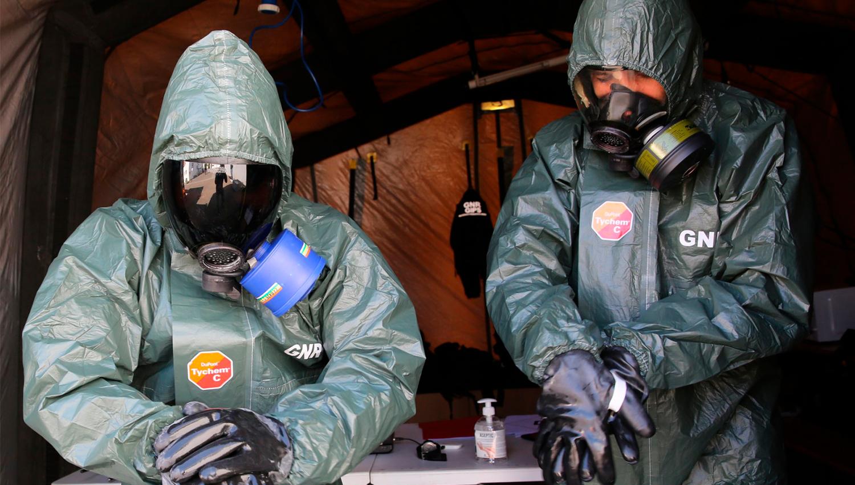 GNR / Descontaminação