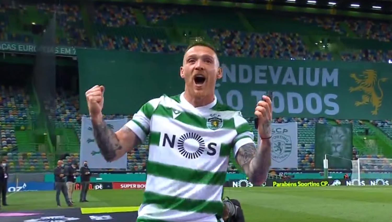 Antunes campeão nacional pelo Sporting CP