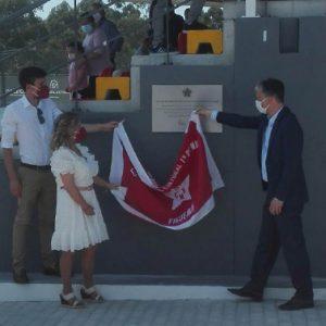 Inaugurado o novo piso sintético do CRC 1º de Maio de Figueiró
