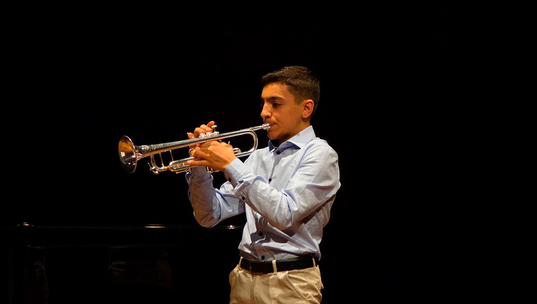 Músico da Banda de Paços de Ferreira selecionado para orquestra internacional