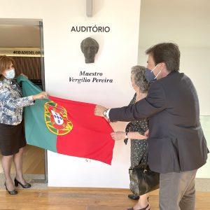 Lordelo inaugura auditório Vergílio Pereira