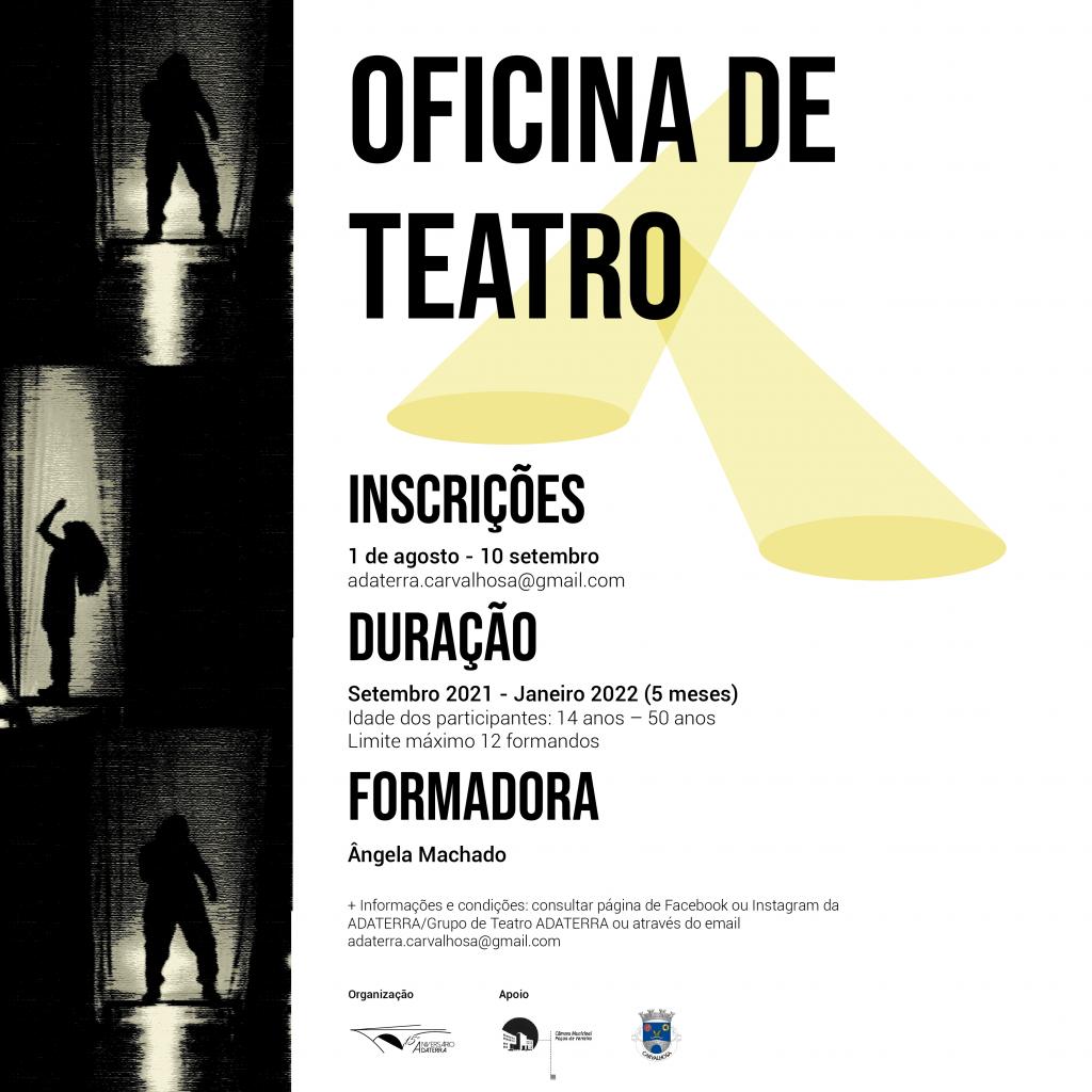 Cartaz Oficina de Teatro 01 02